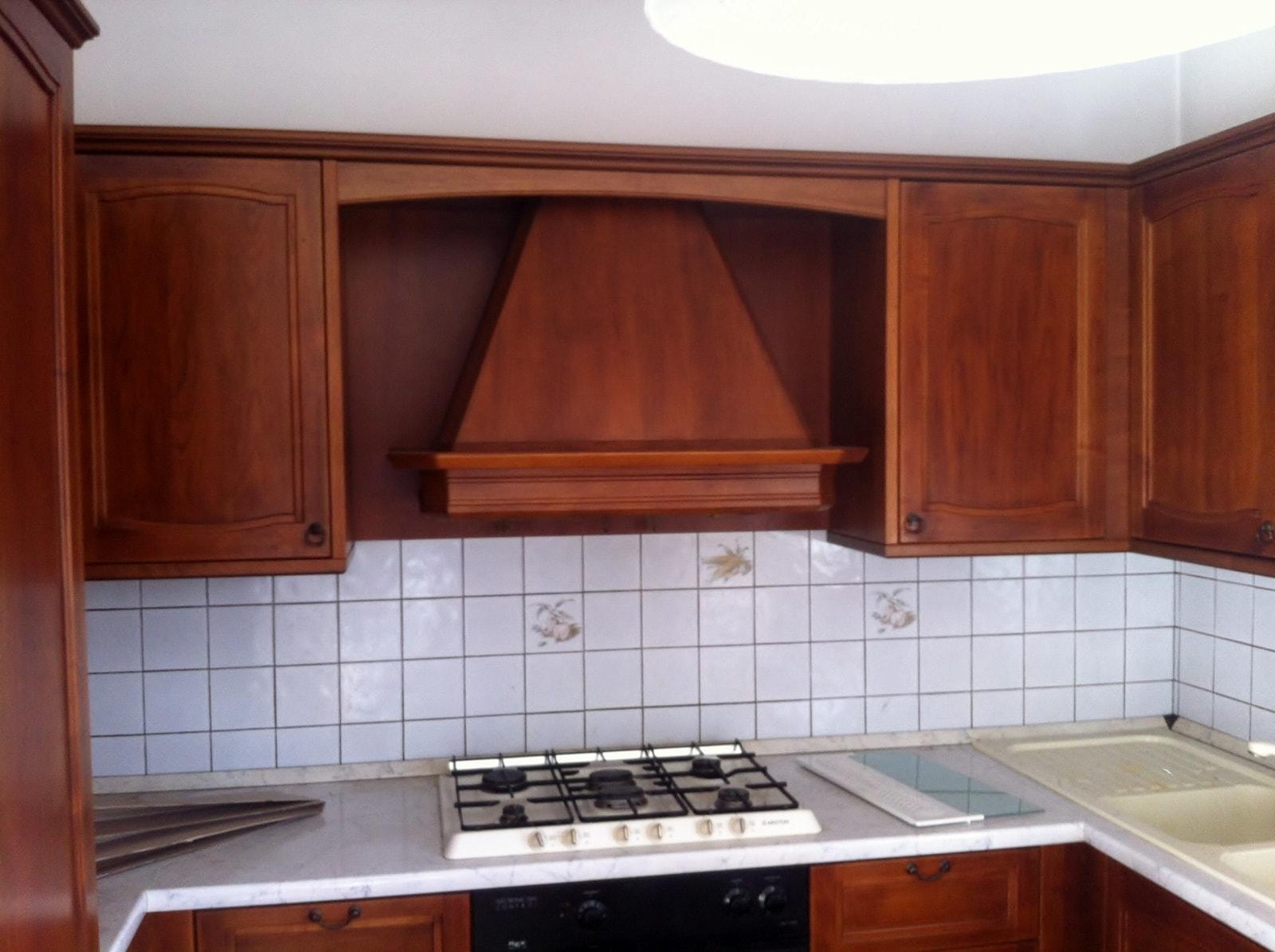 Cucina Arte Povera in Massello - AD Falegnameria - Diego De ...
